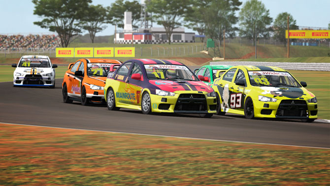 Automobilismo Virtual - Lancer Cup 2016/2 em Tarumã